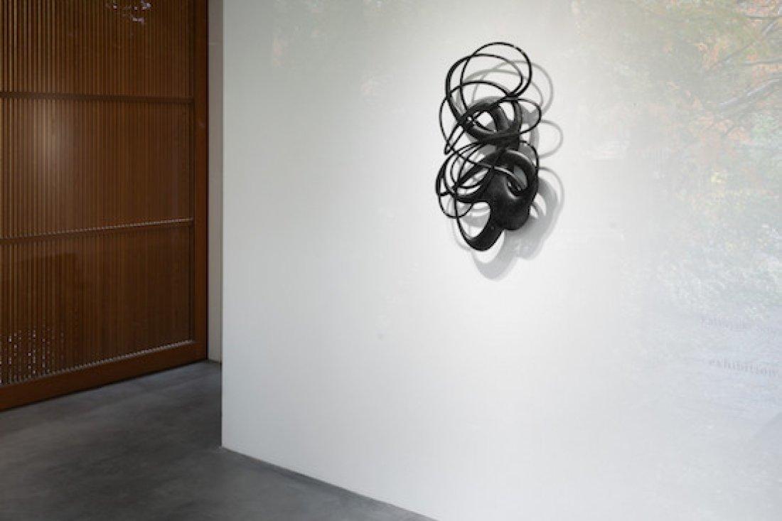 """20141205katsuyuki shirako""""exhibition 5″INSTALLATION VIEW"""