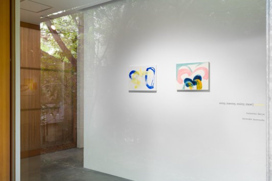 20180901eeny, meeny, miny, moe | yellow INSTALLATION VIEW