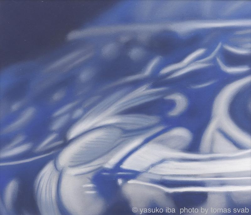 "Iba - eN Arts 2008-12 ""Untitled"" 2008 17.5 x 205.5 cm pastel"