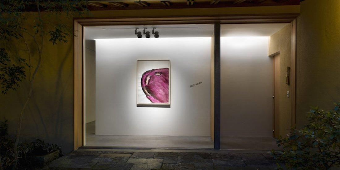 20110204松田啓佑「WORDS LIE Ⅱ」展示風景