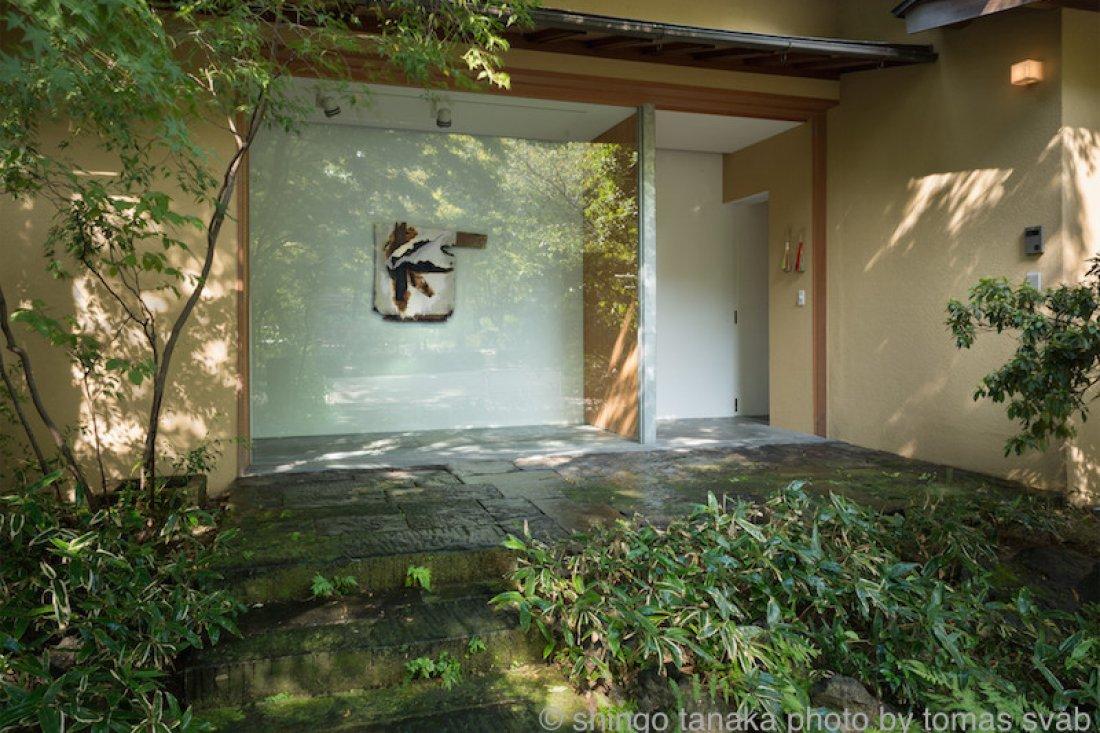 20131004田中真吾「かぎろいの輪郭」展示風景