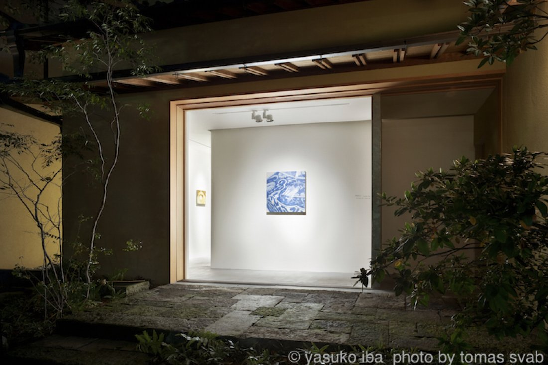 20081101伊庭靖子「SENSE OF TOUCH」展示風景