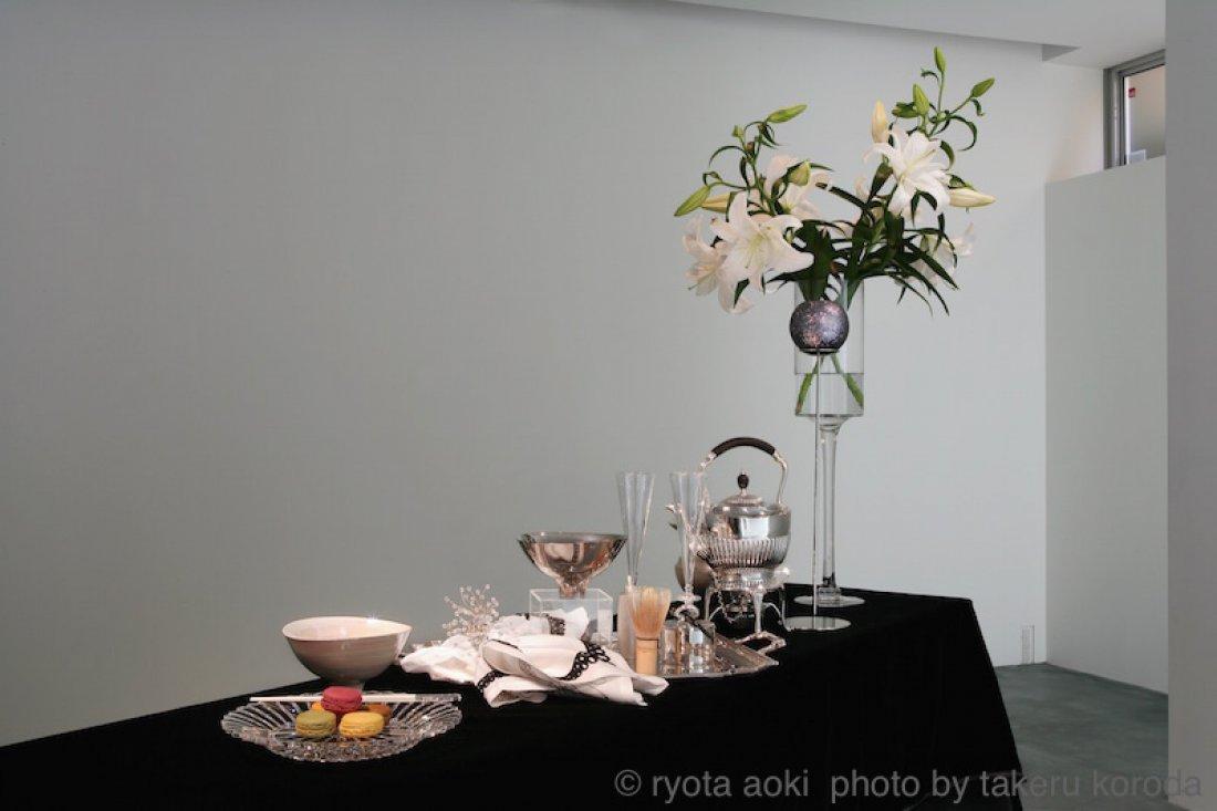 20100924青木良太展 展示風景