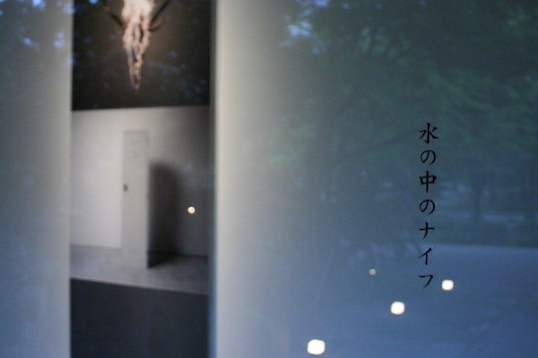 20080502松原健「水の中のナイフ」展示風景