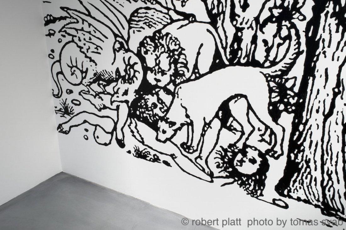 20100205ロバートプラット「TALES FROM THE LIMEN」展示風景
