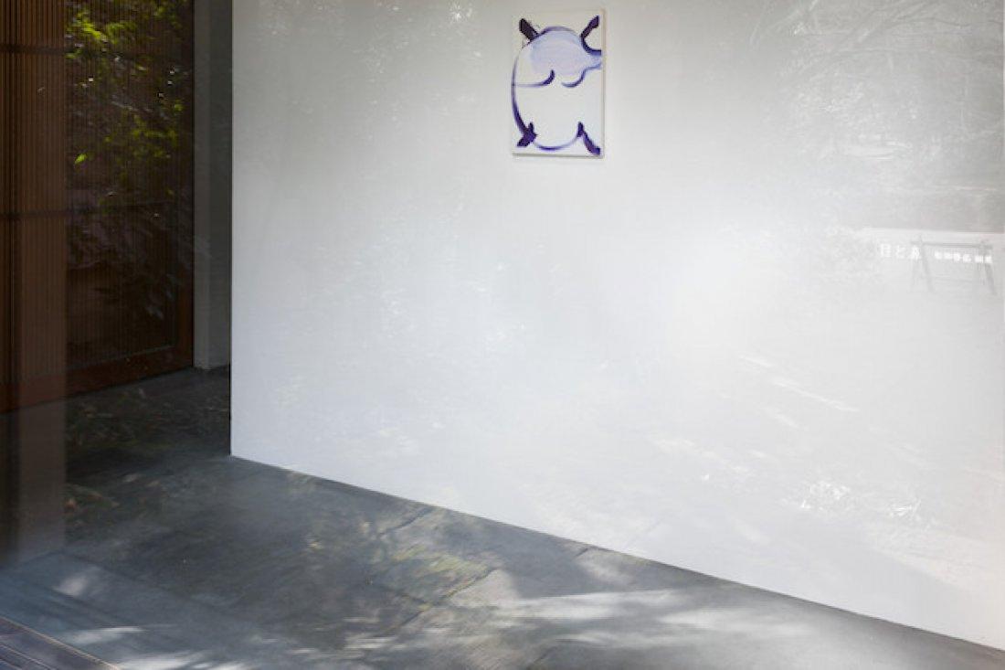 20170317松田啓佑「目と鼻」 展示風景