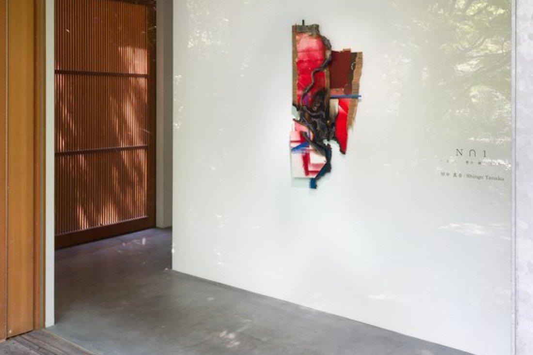 20150703田中真吾「N∩1 「 え し 意か 識 う 品」」展示風景