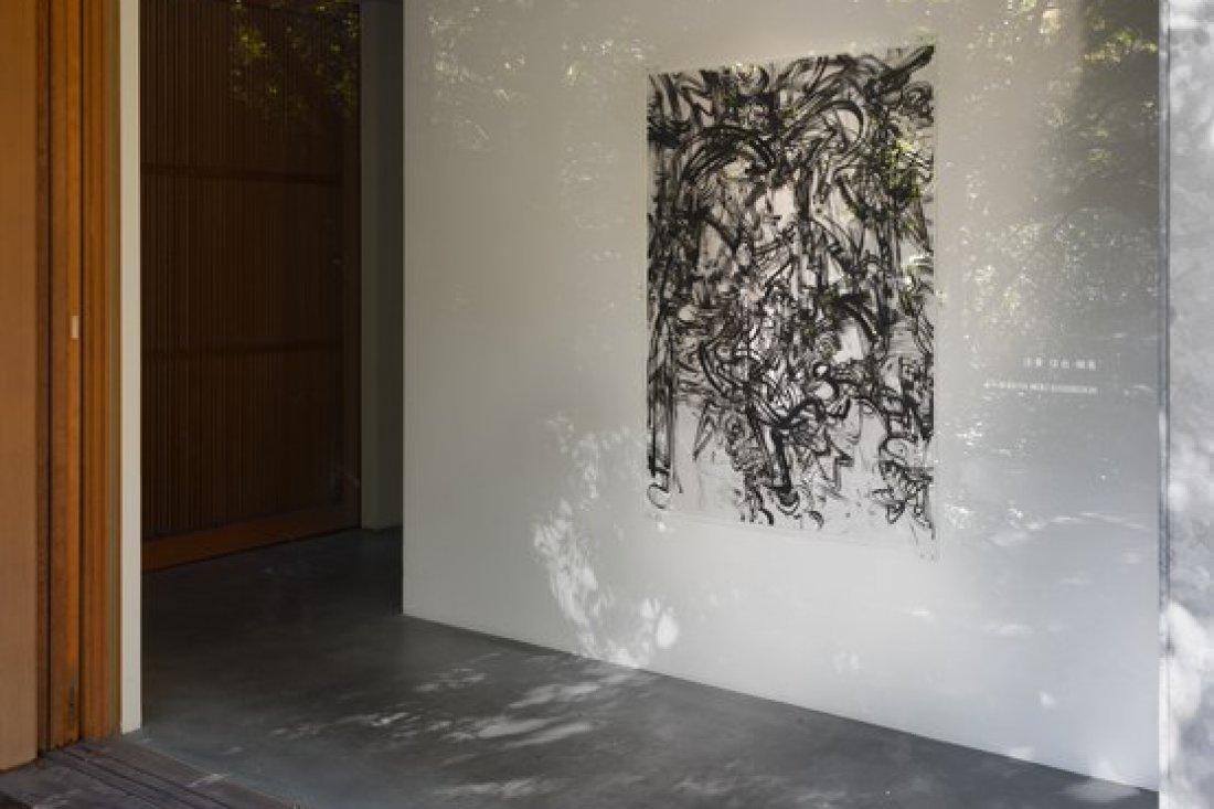 20151101法貴信也個展 展示風景