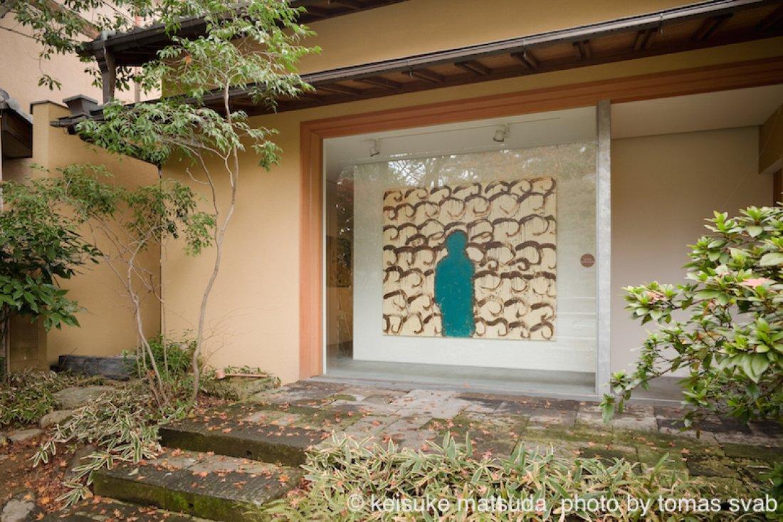 20091219松田啓佑「WORDS LIE」展示風景
