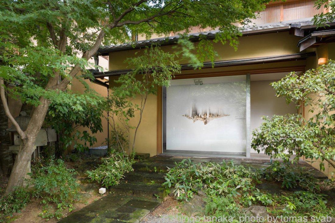 20120901田中真吾「繋ぎとめる/零れおちる」展示風景