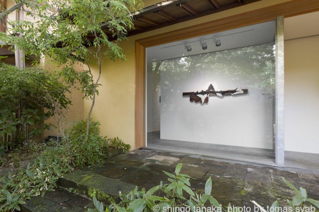 20110902田中真吾「識閾にふれる」展示風景
